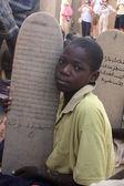 Criança na escola — Foto Stock