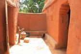 африканский дом — Стоковое фото