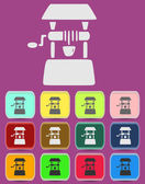 Well icon Illustration with Color Variations — Stock Vector