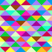 Colorful geometric background with triangles. Vector EPS 10. — Stock Vector