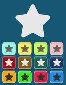 Star icon — Stock Vector