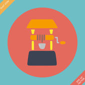 Well icon - vector illustration. Flat design — Vector de stock