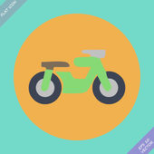 Motorcycle symbol — Stock Vector