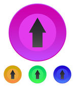Arrow up icon — Stock Vector