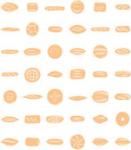 Breads — Stock Vector