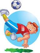 Football Player — Wektor stockowy