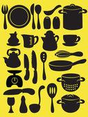 Cooking utensil — Stock Vector