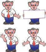 Koala mascot — Stock Vector