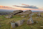 Dartmoor sunset — Stock Photo