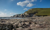 Westcombe Beach — Stockfoto
