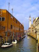 Benátský kanál — Stock fotografie