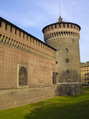 Castle - Milan — Stock Photo
