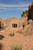 Garden Tomb, Petra — Stock Photo