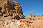 Wadi Farasa Trail, Petra — Stock Photo