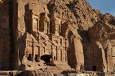 Royal Tombs, Petra — Stock Photo