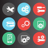 Settings icons set 2 — Stock Vector