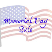 Memorial Day Sale — Stock Photo