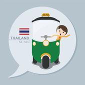 Travel Collection - Thailand — Stock Vector