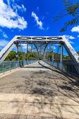 老铁桥梁 — 图库照片