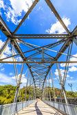 Gamla iron bridge — Stockfoto