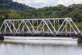 Iron bridge — Stock Photo