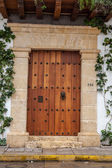 Colonial entrance — Stock Photo