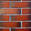 Clean and new Brick wall textured red background — Stock Photo