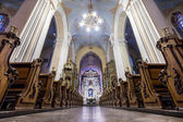 European church interior — Stock Photo