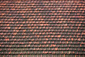 Clay roof background texture — Stock Photo