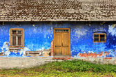 Old colorful house facade — Stock Photo