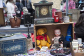 Props for sale on street market stall — Foto Stock