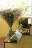 Bouquet of dry grass — Zdjęcie stockowe