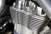 Motorcycles radiator — Stockfoto