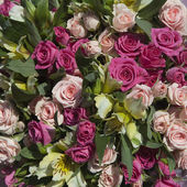 Beauty wedding bouquet — Stock Photo