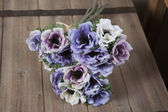 Bouquet of Delphinium — Stock Photo