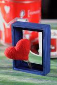 Valentine Day Postcard — Stock Photo