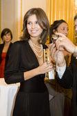Designer Dasha Zhukova at Love Ball — Stock Photo