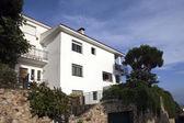 Villa on the Mediterranean Sea. — Zdjęcie stockowe