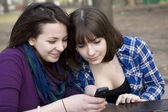 Two teenage girl — Stock Photo