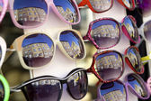 Sunglasses collection — Stock Photo