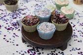 Birthday Cupcakes — Foto Stock