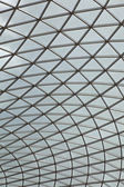 Fragment of glass roof — Stock Photo