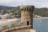 Old Fortress in Tossa de Mar — Stock Photo