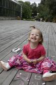 Little cute girl — Stock Photo