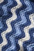 Knitted ruffle — Stock Photo