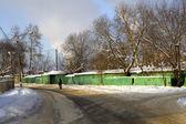 Russian village — Stock Photo