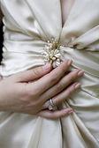 Bride in dress — Stock Photo