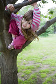 Little cute smiling girl  seven years — Stock Photo