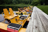 Yellow boat — Stock Photo