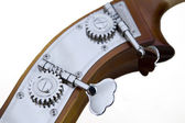 Detail of contrabass — Stock Photo